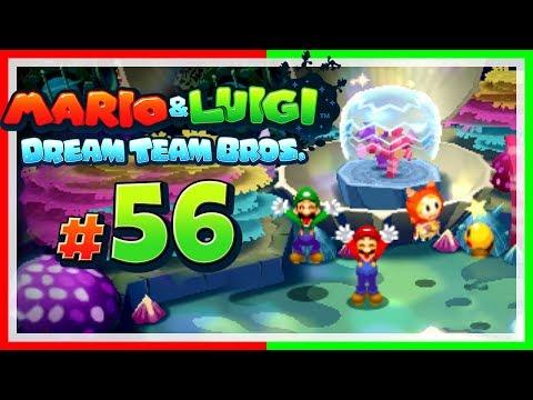 MARIO & LUIGI: DREAM TEAM BROS. # 56 💤 Der Kampf um das Schlummerquallen-Betttuch! [HD60]