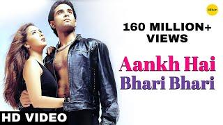 Aankh Hai Bhari Bhari (Male) - 4K Video | Best Bollywood Sad Songs | Tum Se Achcha Kaun Hai