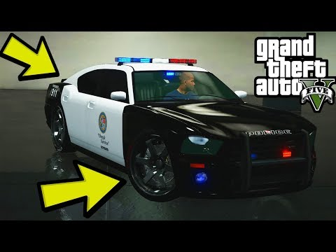GTA 5 - How To Mod The Police Car In GTA 5 Story Mode Offline (Ps4, Xbox One, PS3, Xbox 360)
