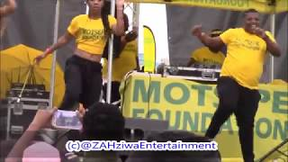 Tipcee And DJ Tira Killer Dance Moves At The Chrismas With Our People In Durban