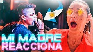 MI MADRE REACCIONA Por PRIMERA VEZ A TRUENO En La FMS De ARGENTINA...*SE SORPRENDE*