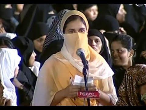Hindu Sister Renuka Made Fun With Dr. Zakir Naik (Urdu)