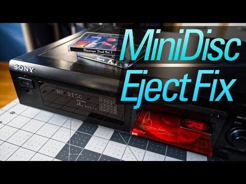 Fixing My MiniDisc Recorder