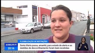 03/05: Santa Maria, Flores e Corvo passam a Estado de Alerta