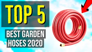 ✅ TOP 5: Best Garden Hose 2020