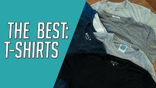 The Best T-Shirts for Men || Our Favorite Tees || Buck Mason, ESNTLS, BYLT Review