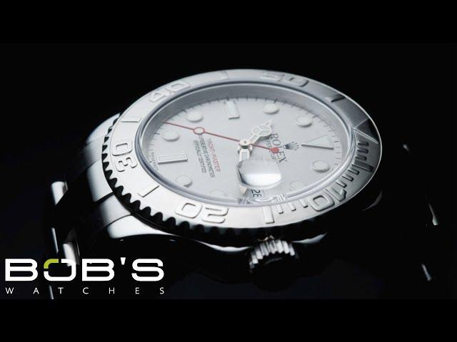 מעולה 8 Certified Pre-Owned Rolex Yachtmaster watches for Sale | Bob's FY-32