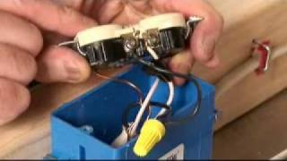 How to Wire a Half Switched Outlet Video