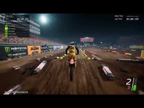Видео № 1 из игры Monster Energy Supercross [PS4]