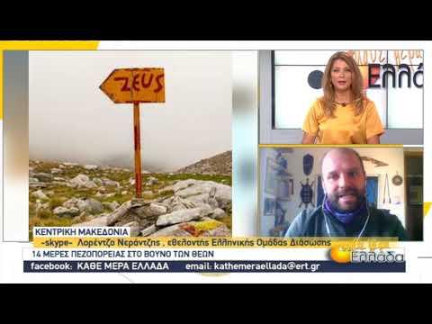 Ο εθελοντής της Ελληνικής Ομάδας Διάσωσης που ένωσε τα 12 καταφύγια του Ολύμπου | 16/11/2020 | ΕΡΤ