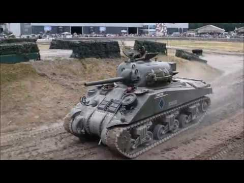 WW2 Tanks From the Tankfest 2018 Press Area