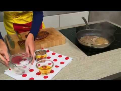 Magret de canard sauce cr me au poivre vert maggi france - Cuisson magret de canard a la poele ...