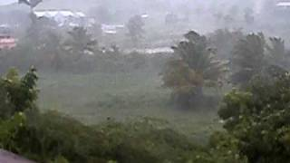 preview picture of video 'Hurricane Earl in Antigua - July 29, 2010'