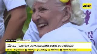 Casi 60% de los paraguayos sufre de obesidad