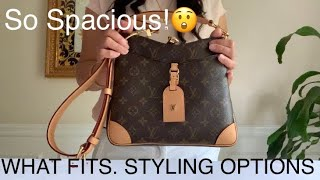 What Fits & Styling Options New Louis Vuitton Odeon PM L Chanel LV