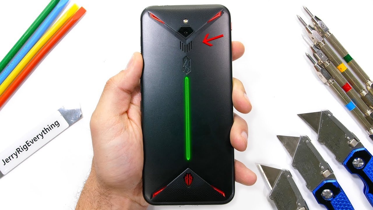 Le Nubia Red Magic 3 se fait torturer par le célèbre YouTubeur Jerry Rig Everything (vidéo)
