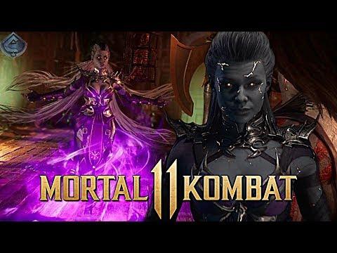 Mortal Kombat 11 - Official In-Game Look at Sindel Revealed!