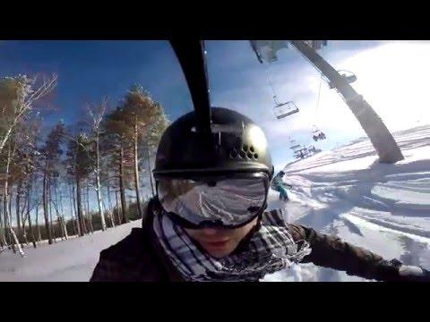 Видео: Видео горнолыжного курорта Мраткино (Белорецк) в Башкортостан