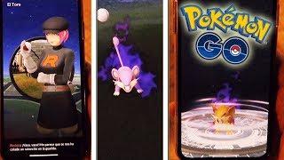 ¡ENCUENTRO al TEAM ROCKET en Pokémon GO! CAPTURO Pokémon OSCURO y PURIFICACIÓN! [Keibron]
