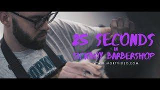 25 seconds in Sickboy Barbershop !
