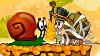 УЛИТКА БОБ В ЕГИПТЕ 3 [2] ПРИКЛЮЧЕНИЯ УЛИТКИ БОБА. Игровой мультик для детей #ПуговкаTV
