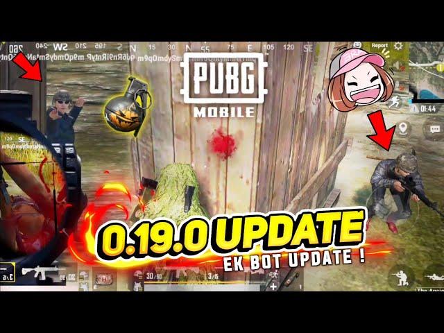 PUBG Mobile 0.19.0 version: New Bot evolution update