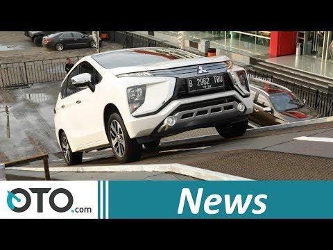 Mitsubishi Xpander, Sensasi Nanjak di Skybridge | IIMS 2018 | OTO.com