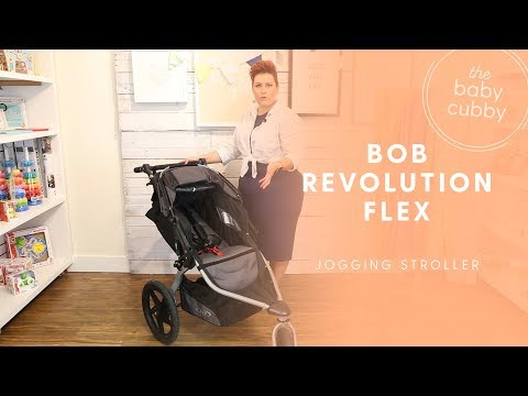 BOB 2016 Revolution Flex Jogging Stroller Review