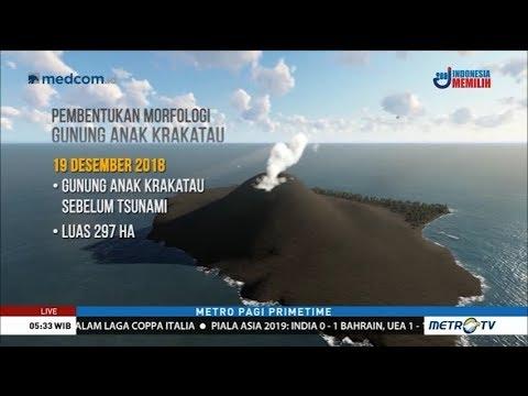 Mengenal Fase Baru Gunung Anak Krakatau