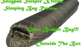 Snugpak Sleeper Xtreme Sleeping Bag Review