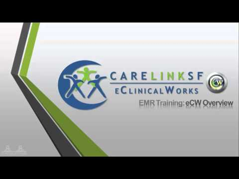 EMR Training: eCW Overview - YouTube
