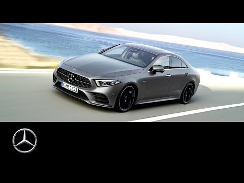 vid o mercedes benz cls 2018 world premiere trailer l 39 argus. Black Bedroom Furniture Sets. Home Design Ideas