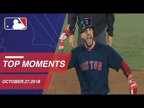 Top 10 Moments from October 27, 2018