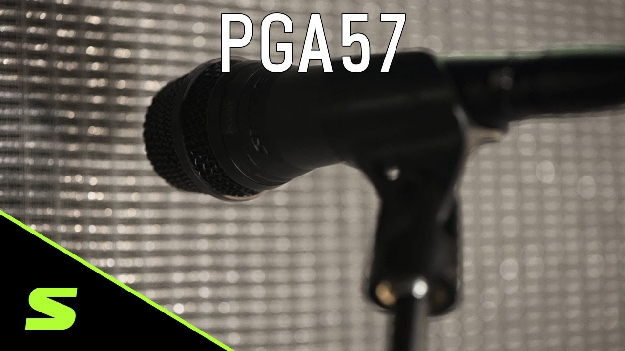 Shure PGA57 Instrument Microphone - Product Overview