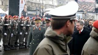 Angelobung 2011 am Heldenplatz [Nationalfeiertag 2011]