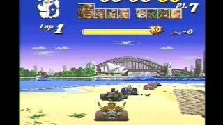 Street Racer SNES Gameplay Ending Super Nintendo