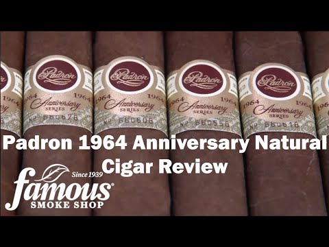 Padron 1964 Anniversary Natural video