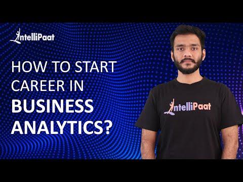 How to Start Career in Business Analytics | Business Analytics ...