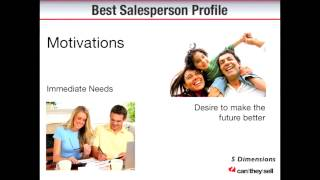 Can They Sell - Recruiting Salespeople - Top 5 Traits of the Best Salespeople 2