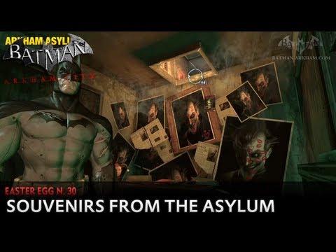 Video Batman: Arkham City - Easter Egg #30 - Souvenirs from the Asylum