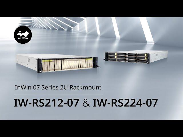 InWin 07 Series 2U Rackmount|IW-RS212-07 & IW-RS224-07