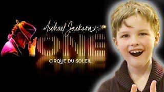 Iain Armitage (Young Sheldon) Reviews | Michael Jackson ONE | Cirque du Soleil
