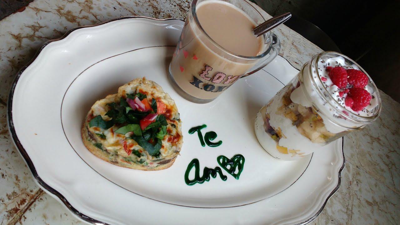 Desayuno romántico para llevar a la cama - Demelza Makeup