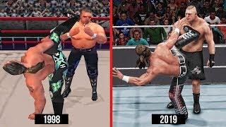 WWE 2K19 The Evolution Of Sweet Chin Music! (WWE Games)