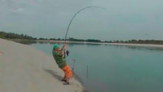 Рыбалка деда утащил марлин