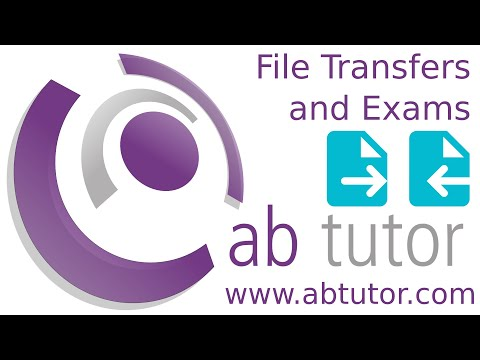 File Transfers and Exams with AB Tutor