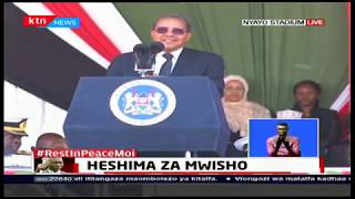 Former Tanzanian President Kikwete pays tribute to Former President Moi