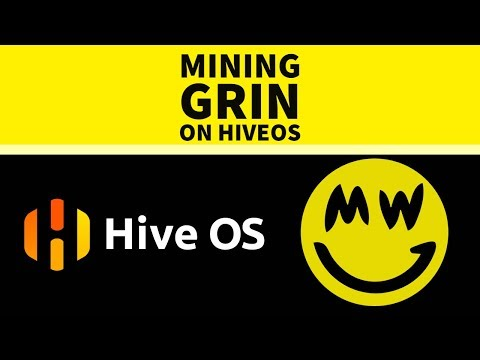 Mining Grin on Hive OS