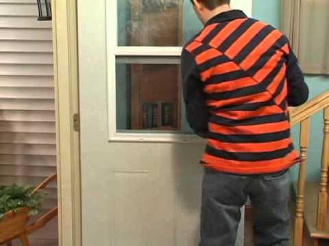MASTERCRAFT Exterior Doors > Exterior Doors > Vent Lite Screen Removal
