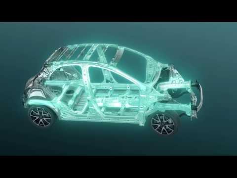 Toyota Yaris - Lightweight and highly rigid body